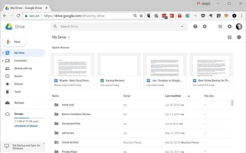 Google Drive bij Peppix Benelux