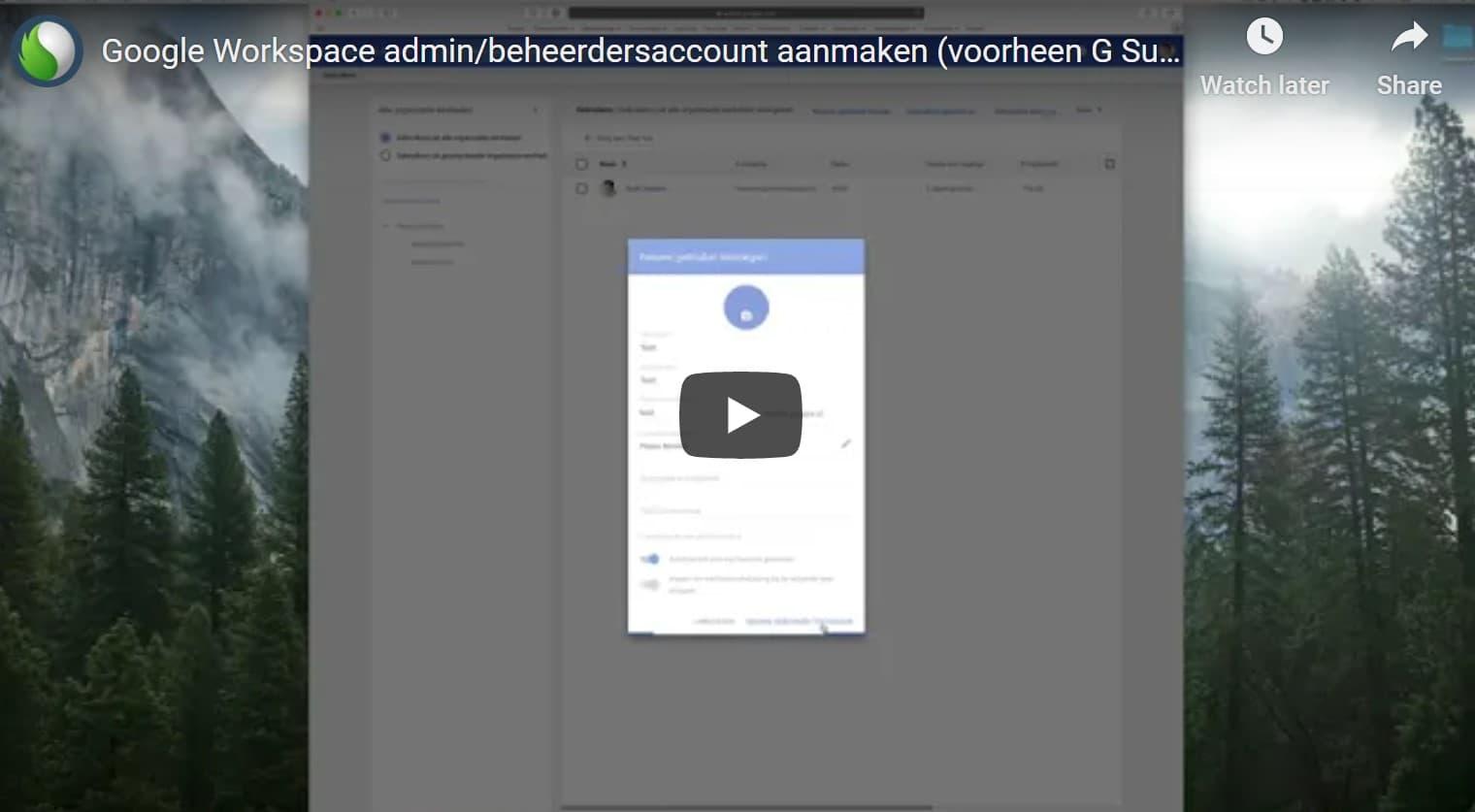 Google Workspace beheerdersaccount toevoegen bij Peppix Benelux