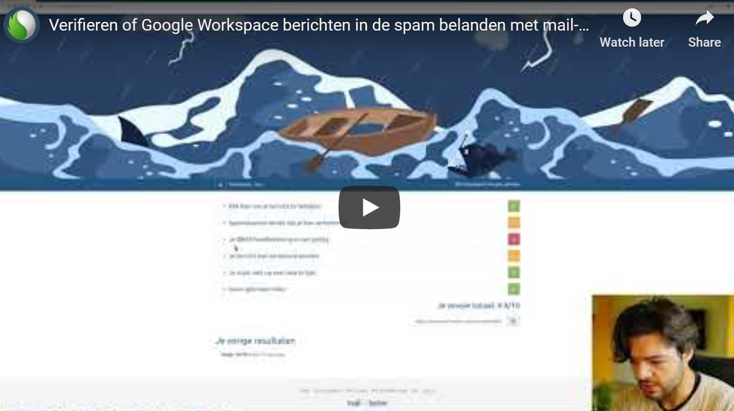 Google Workspace mails in de spam? Bekijk dan deze tip! bij Peppix Benelux